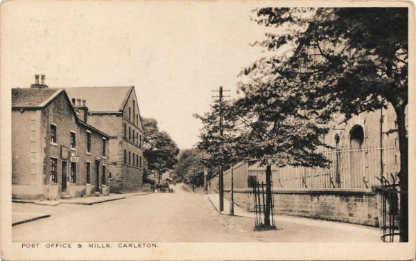 Post Office and The Mills, West Road, Carleton