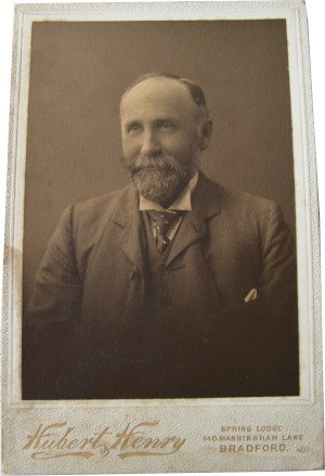 William Cecil Slingsby in the early 1900's