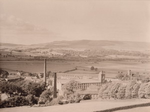 An old photo of Carleton Mill