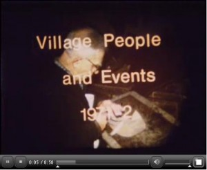 Village Events And People 1972-2